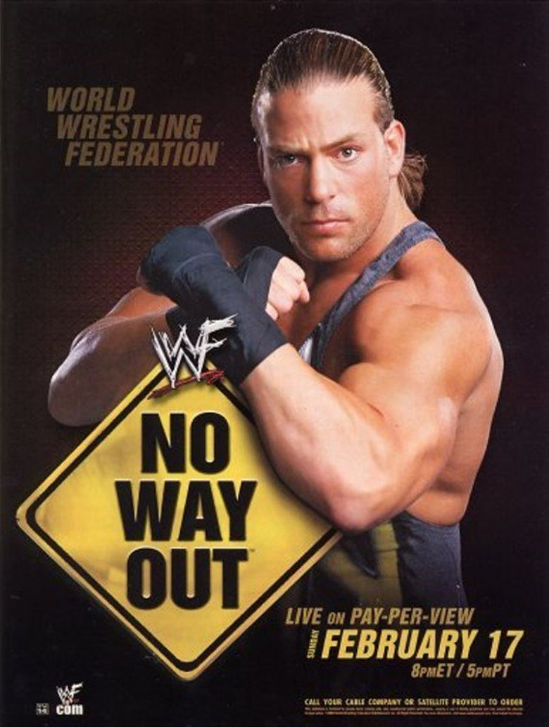 WWE No Way Out 2002 Poster