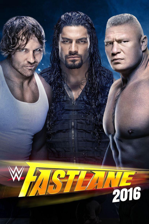 WWE Fastlane 2016 Poster