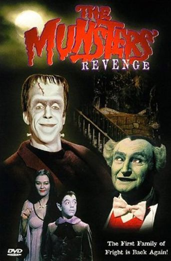 The Munsters' Revenge Poster