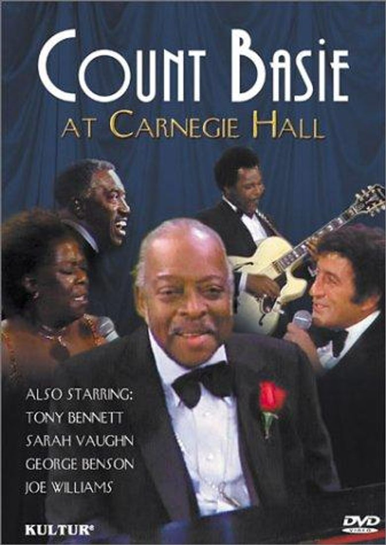 Count Basie At Carnegie Hall Poster