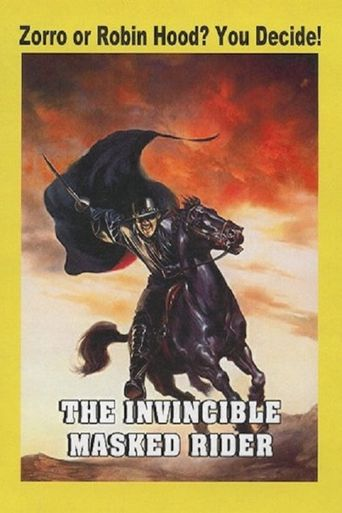The Invincible Masked Rider Poster
