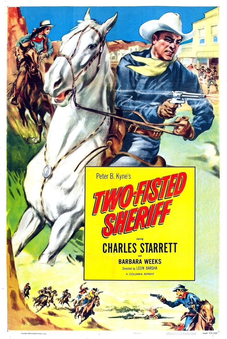 Two-Fisted Sheriff Poster