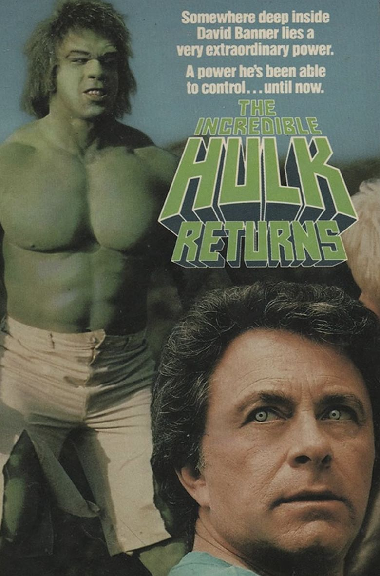 The Incredible Hulk Returns Poster