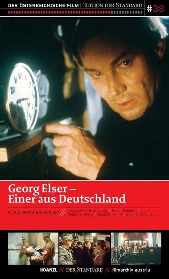 Georg Elser – Einer aus Deutschland Poster
