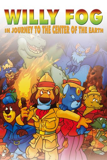 Willy Fog in Journey to the Center of the Earth Poster