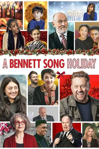A Bennett Song Holiday Poster