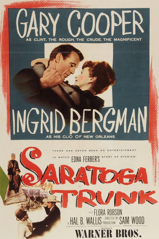 Saratoga Trunk Poster