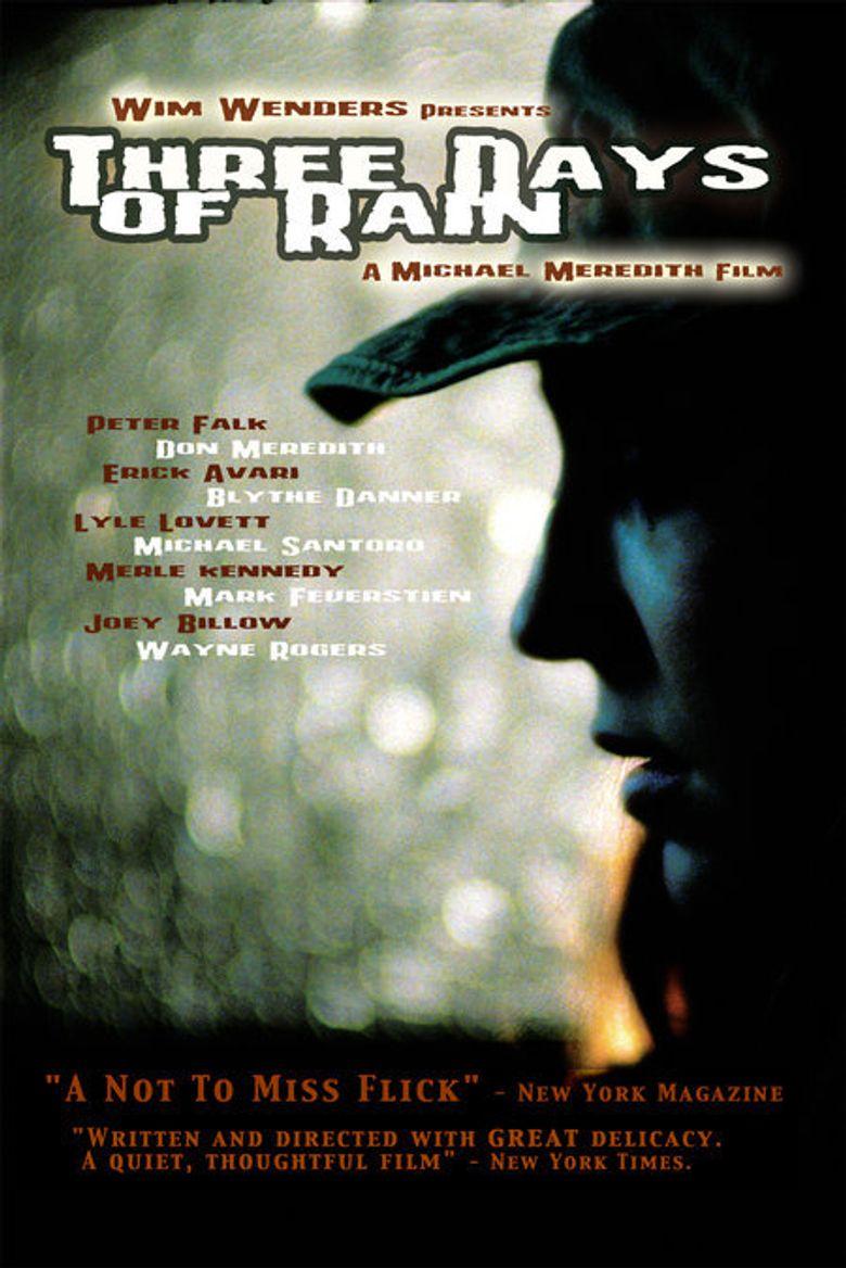 Three Days of Rain Poster