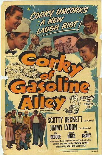 Corky of Gasoline Alley Poster