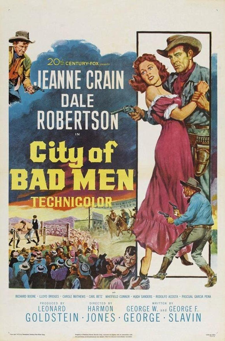 City of Bad Men Poster