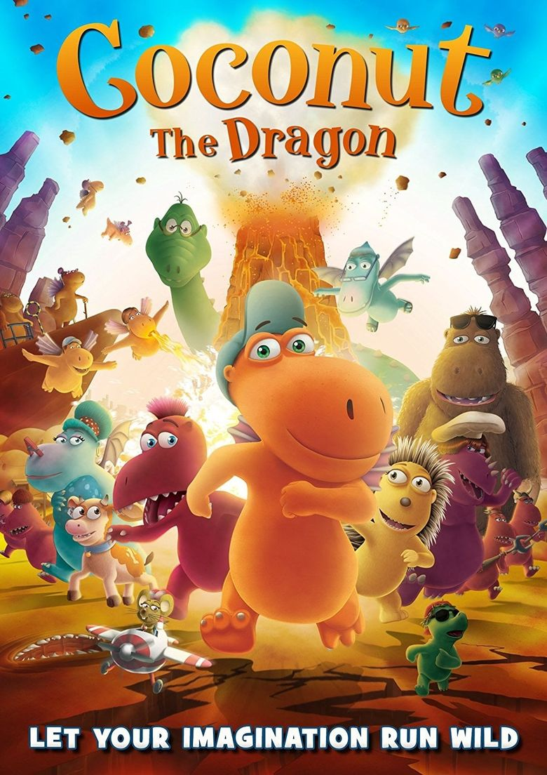Coconut The Little Dragon Poster