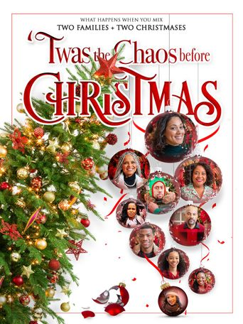 Twas the Chaos Before Christmas Poster