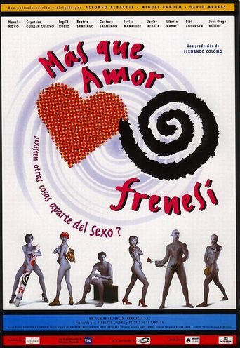 Not Love, Just Frenzy Poster