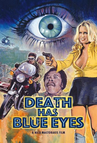 Death Has Blue Eyes Poster