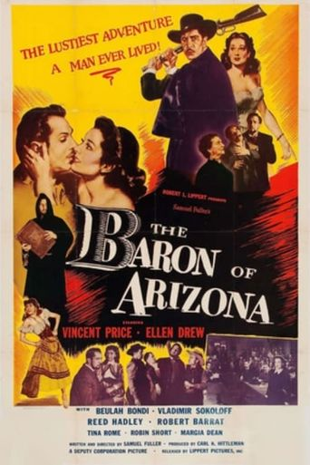 The Baron of Arizona Poster