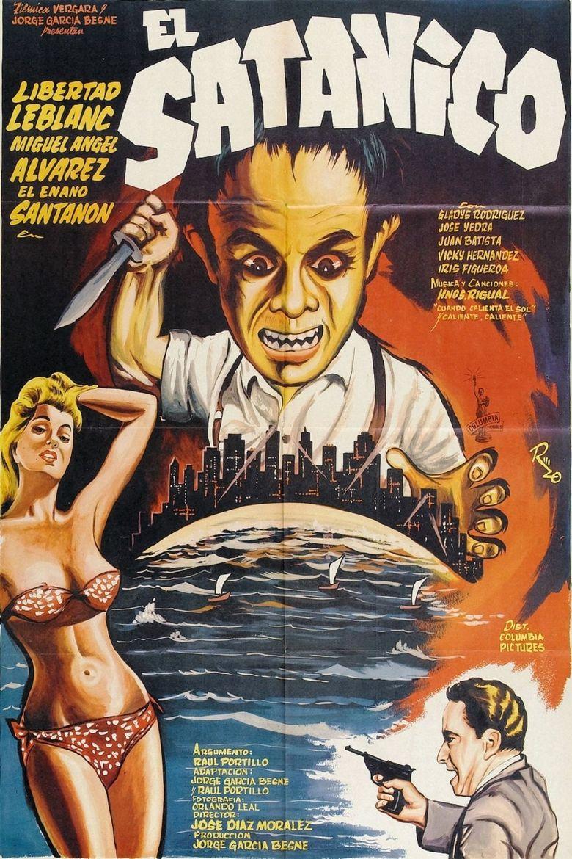 El satánico Poster