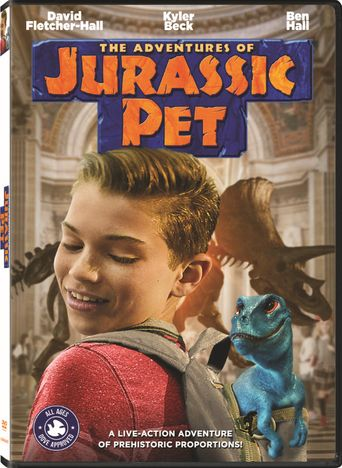 The Adventures of Jurassic Pet Poster