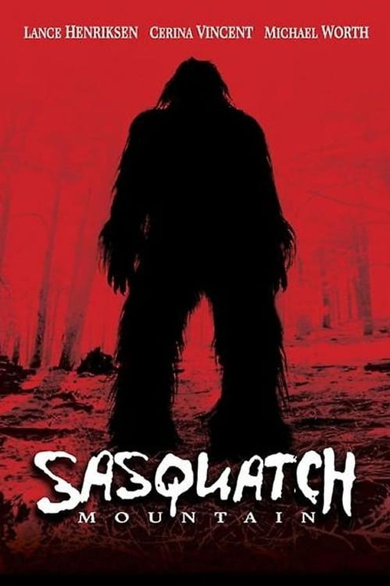 Sasquatch Mountain Poster