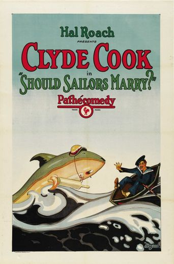 Should Sailors Marry? Poster