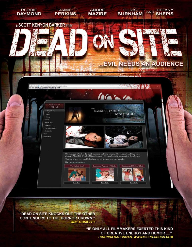 Dead on Site Poster