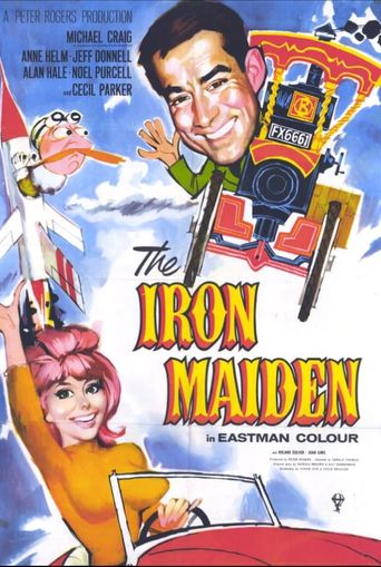The Iron Maiden Poster