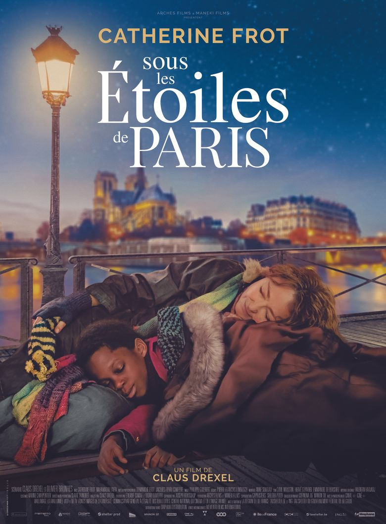 Under the Stars of Paris Poster