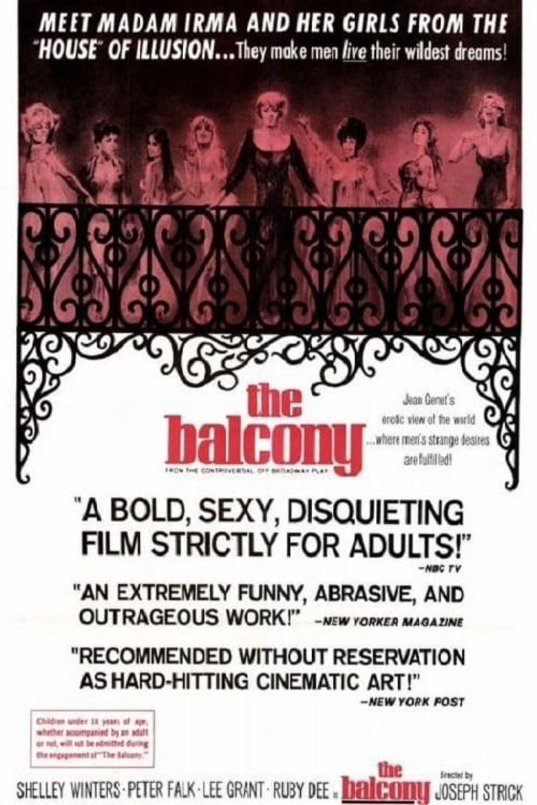 The Balcony Poster