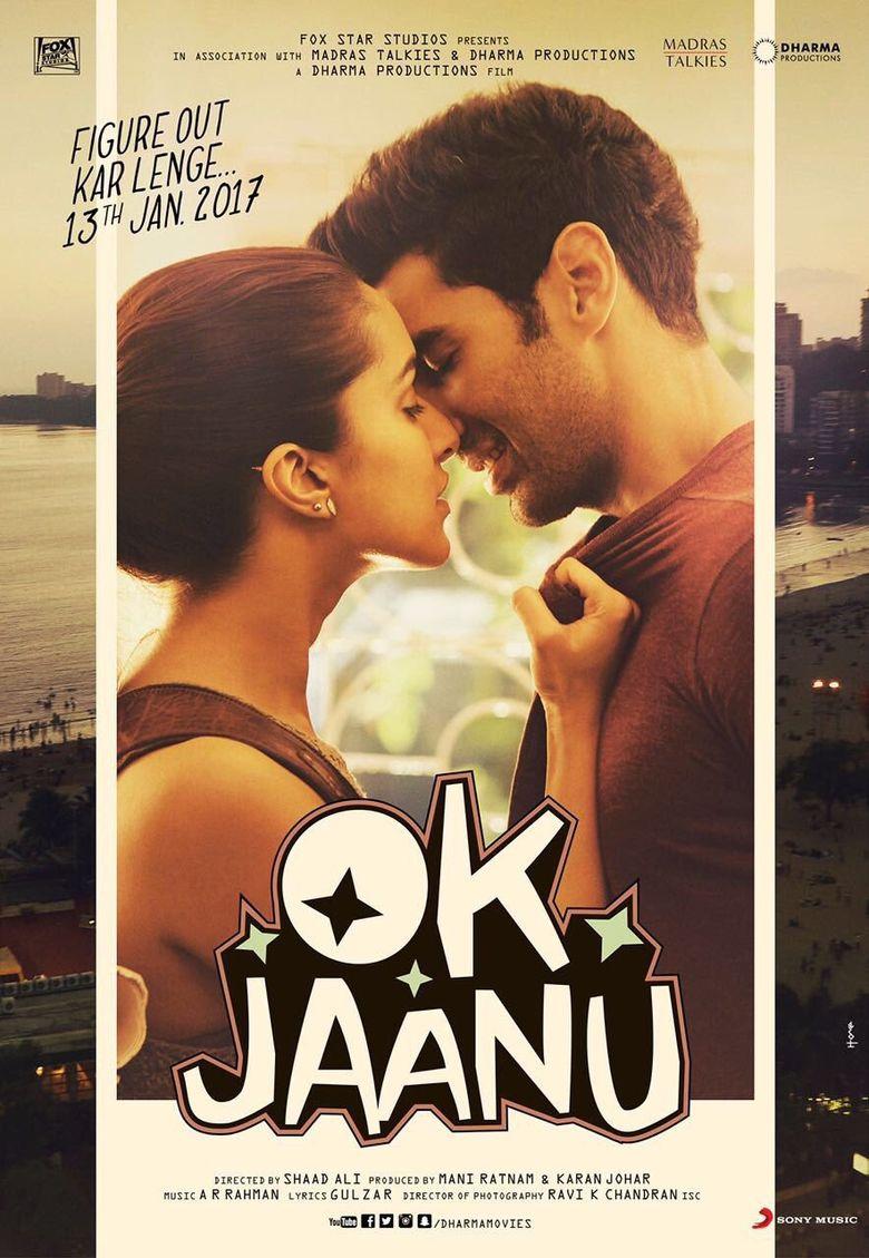 Ok Jaanu Poster