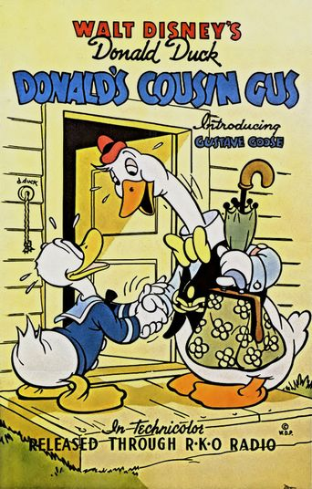 Donald's Cousin Gus Poster