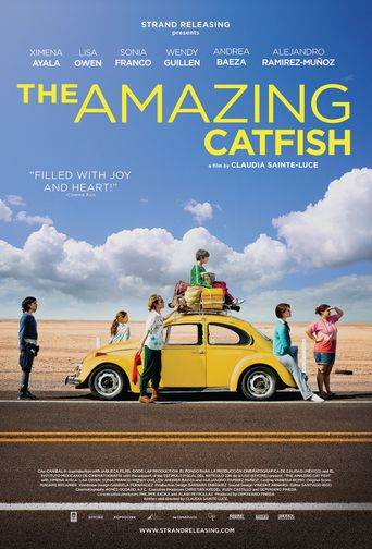 The Amazing Catfish Poster