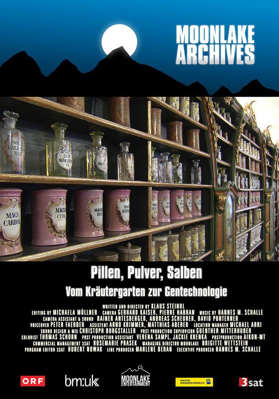 Pillen, Pulver, Salben - Vom Kräutergarten zur Gentechnologie Poster