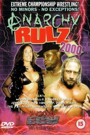 ECW Anarchy Rulz 2000 Poster