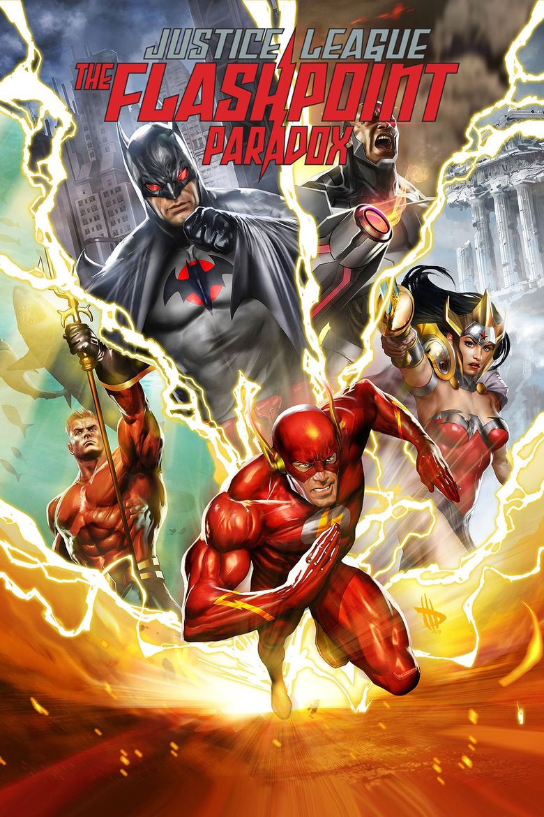 Justice League: The Flashpoint Paradox Poster