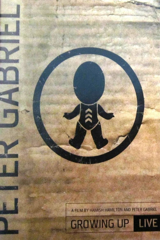 Peter Gabriel: Growing Up Live Poster