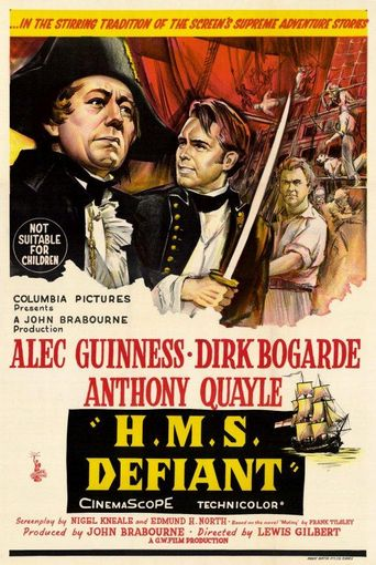 H.M.S. Defiant Poster