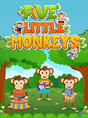 Five Little Monkeys Jumping on the Bed and Many More Popular Nursery Rhymes Collection Poster