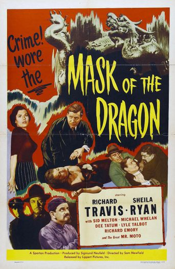 Mask of the Dragon Poster