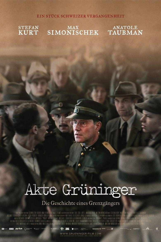 Akte Grüninger Poster
