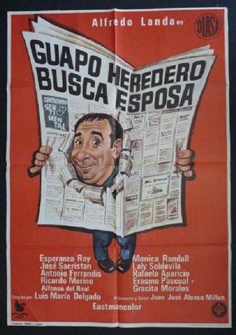 Guapo heredero busca esposa Poster