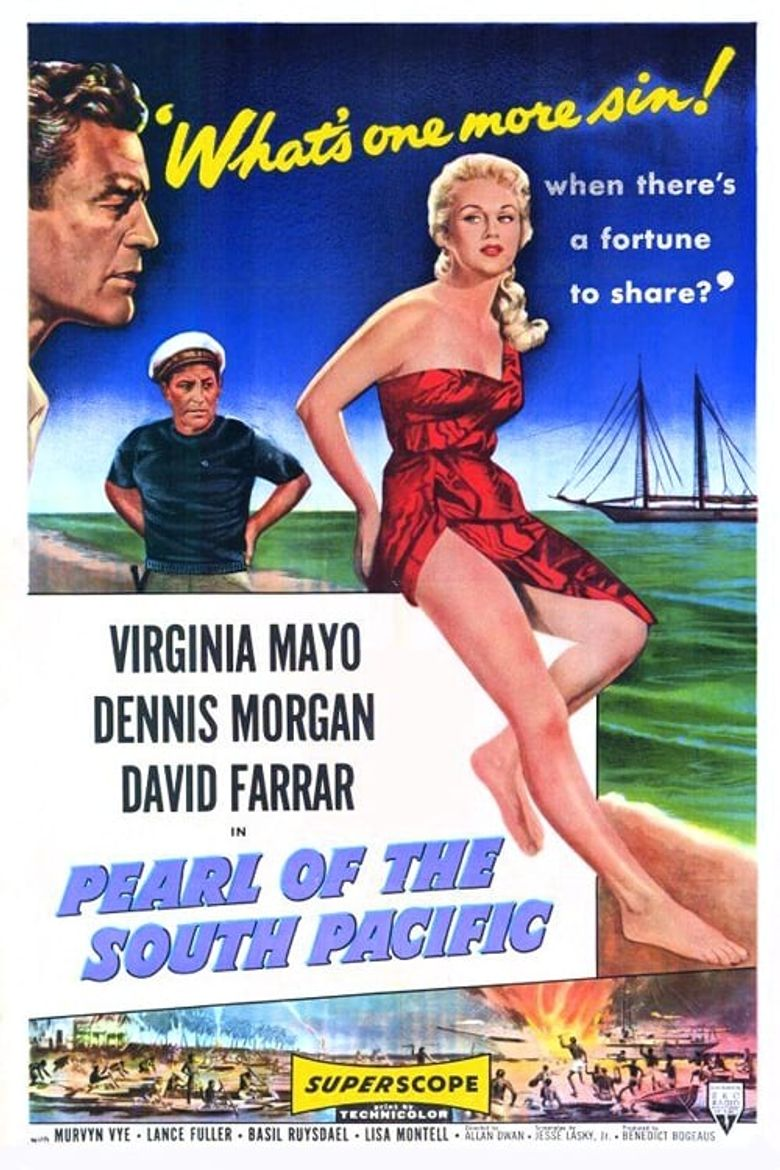 Pearl of the South Pacific Poster