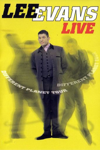 Lee Evans Live: The Different Planet Tour Poster
