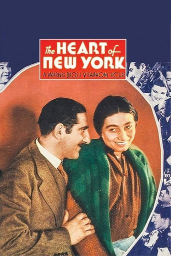 The Heart of New York Poster