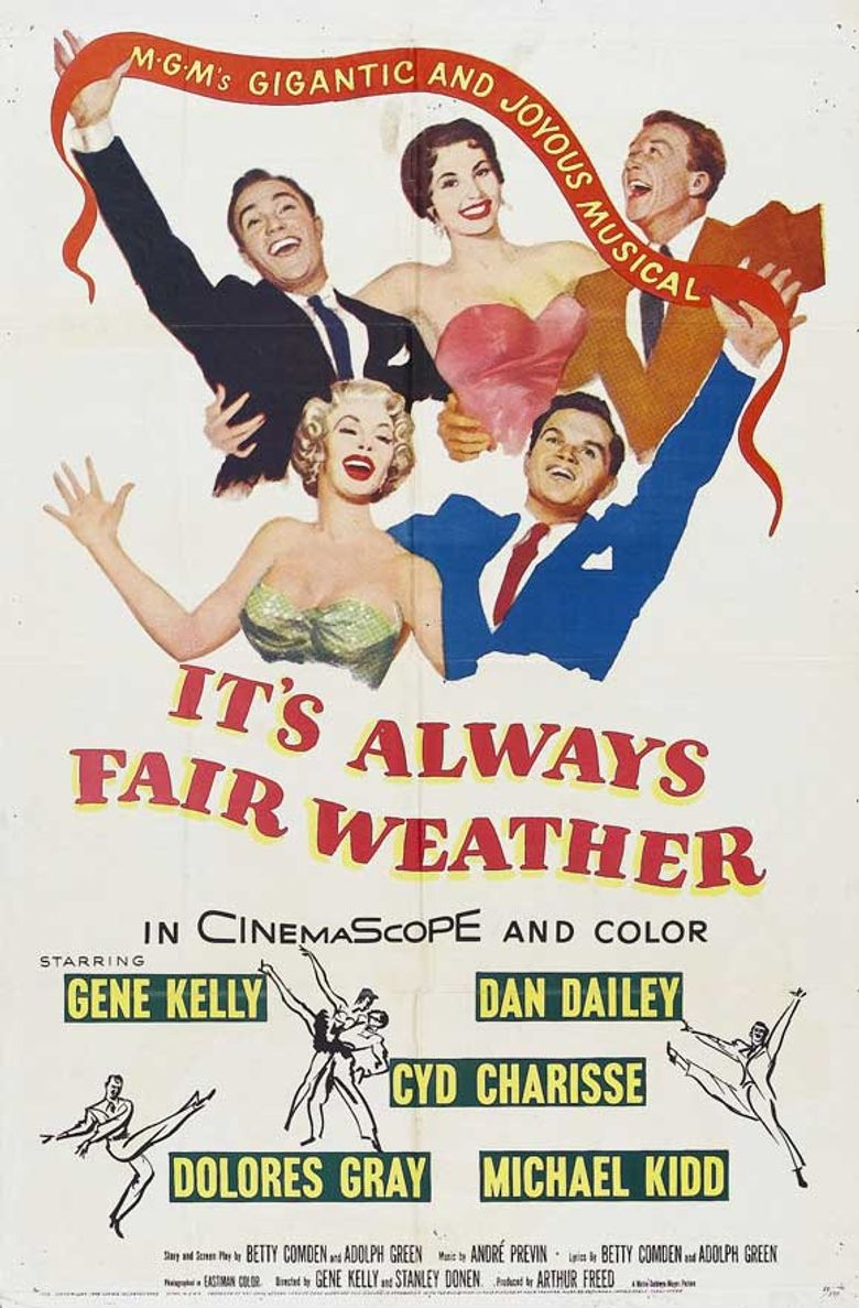 It's Always Fair Weather Poster