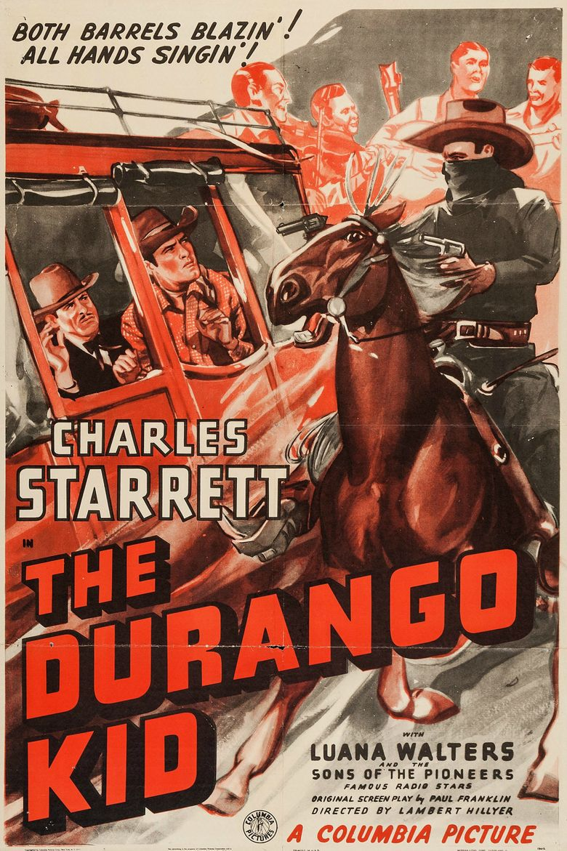 The Durango Kid Poster