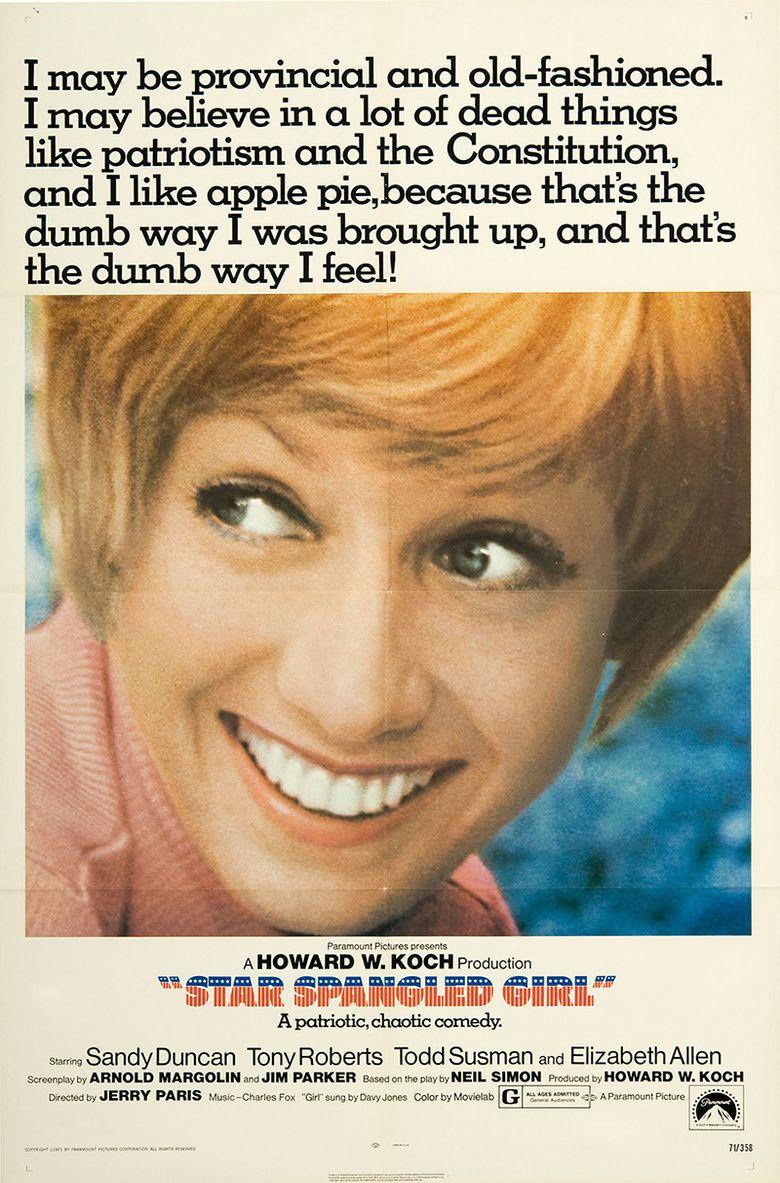 Star Spangled Girl Poster