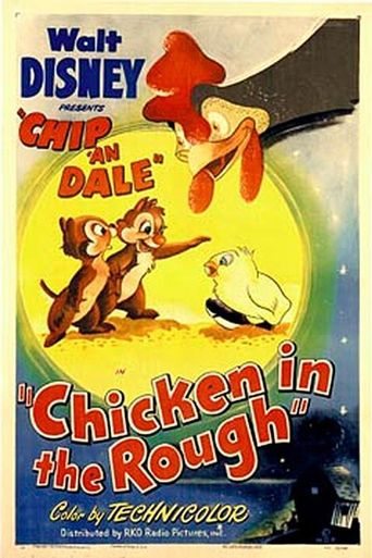 Chicken in the Rough Poster