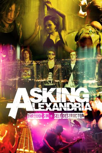 Asking Alexandria: Through Sin + Self Destruction Poster