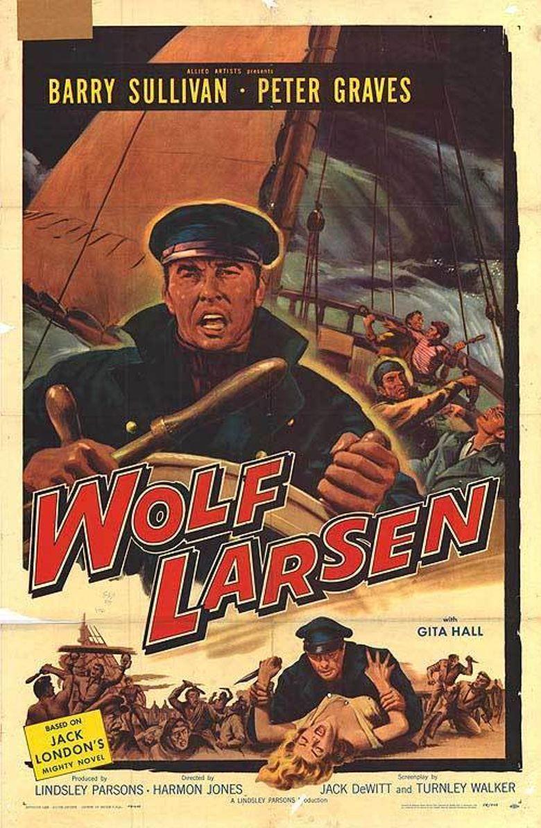 Wolf Larsen Poster