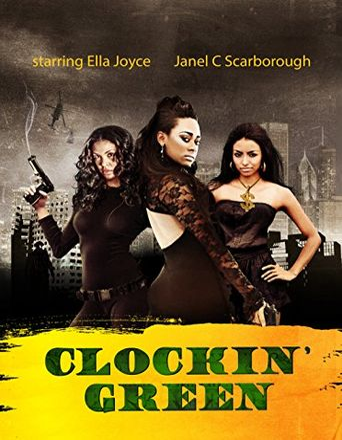 Clockin' Green Poster