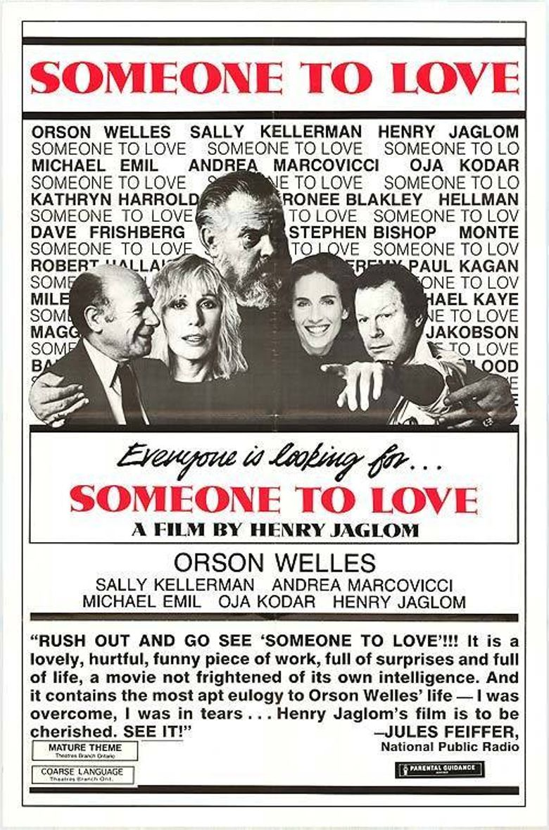 Someone to Love Poster